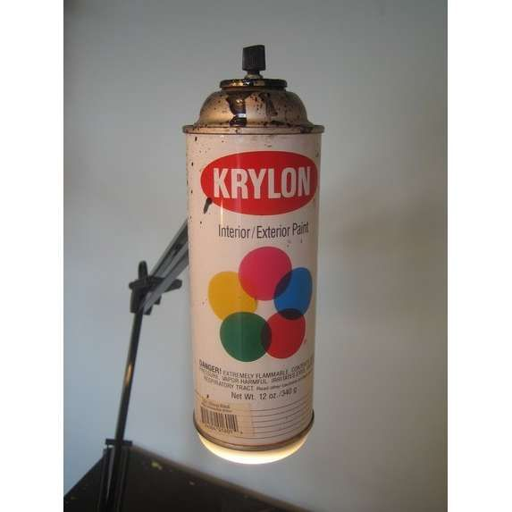 image gallery krylon spray paint can. Black Bedroom Furniture Sets. Home Design Ideas
