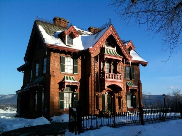 25 best andrew jackson downing images on pinterest andrew jackson house designed by architect andrew jackson downing in newburgh new york fandeluxe Image collections
