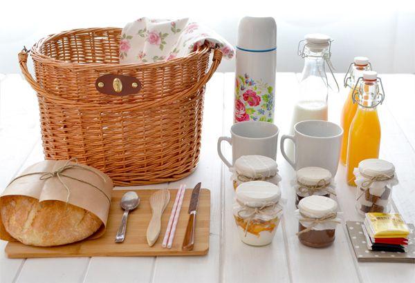 La chica de la casa de caramelo: Desayuno picnic en el parque