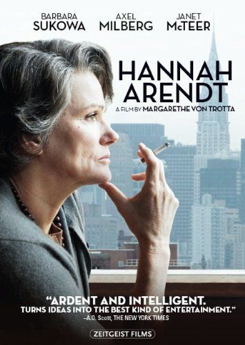 A brilliant biopic of the influential German-Jewish philosopher and political theorist. Arendt's reporting on the 1961 trial of ex-Nazi Adolf Eichmann in The New Yorker, controversial both for her portrayal of Eichmann and the Jewish councils, introduced her now-famous concept of the 'Banality of Evil.'