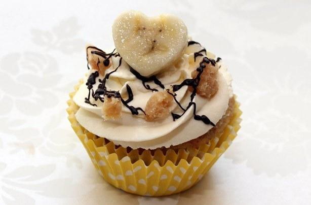 Banoffee cupcake idea