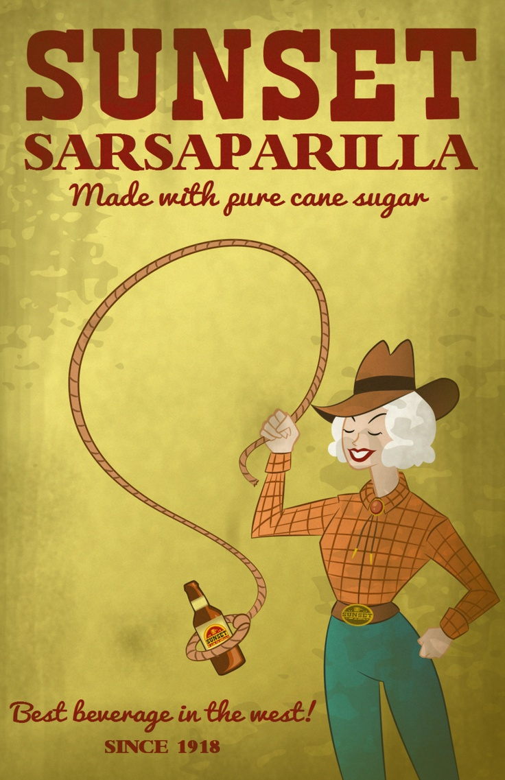 Sarsaparilla is what we were allowed to drink growing up.