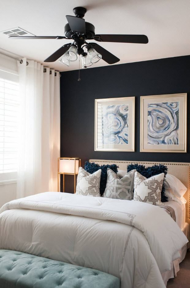 Chambre 11 M M Solutions Pratiques Pour La Creation D Une Salle De Repos Petite Mais Confortable Decoration Chambre In 2020 Cozy Master Bedroom Small Master Bedroom Master Bedroom Remodel