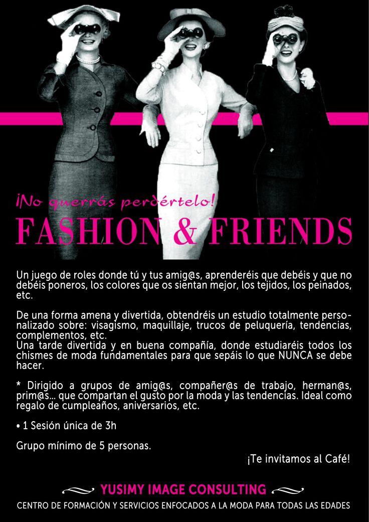 FASHION & FRIENDS, un juego de rol para disfutar de la moda.