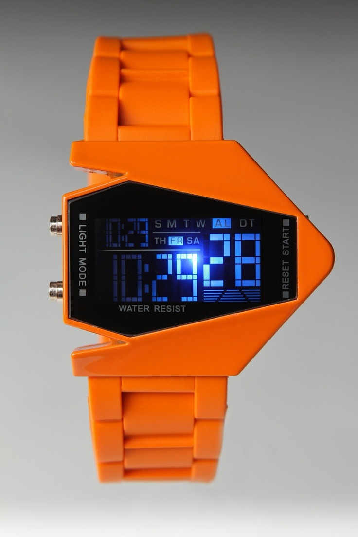 DUMB watch Orange, interested and also disgusted.: Dope Watch, Futuristic Watch, Dumb Watch, Clothes Styles, Dumbwatch