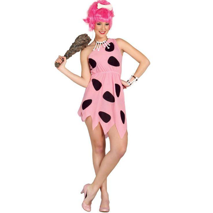 Disfraz de Pebbles Picapiedra #disfraces #carnaval