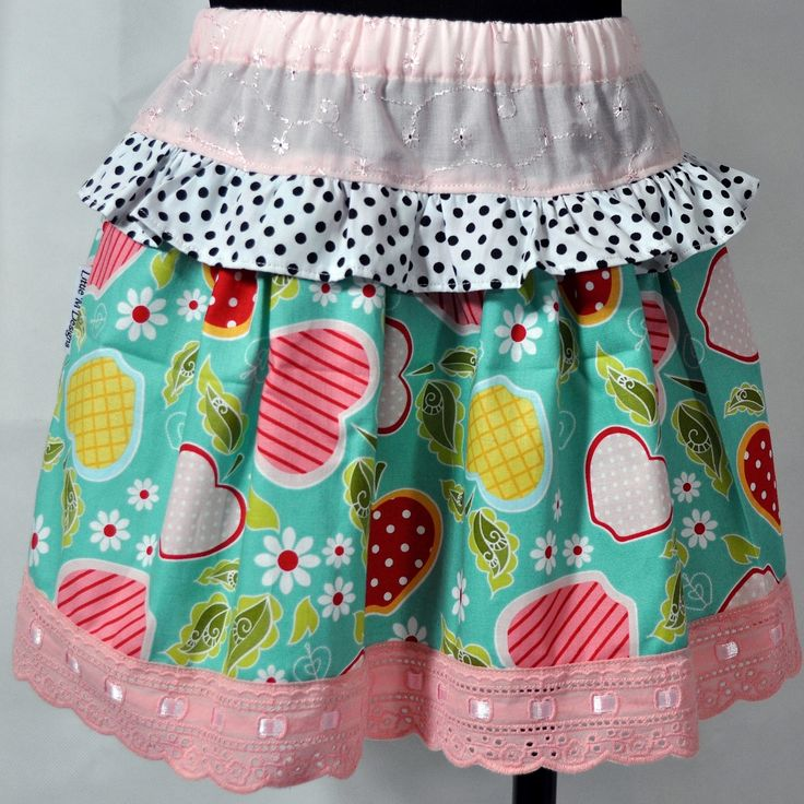 The Apple Salad Ruffled Skirts are handmade and designed here in Australia by a boutique baby designer label 'Little M Designs'. The skirt is made from quality fabric and is finished with a elastic waist for maximum comfort and easy fitting.