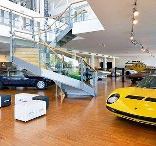 Museo Lamborghini http://www.etvonweb.be/57778-moteurs-museo-lamborghini-via-google-maps