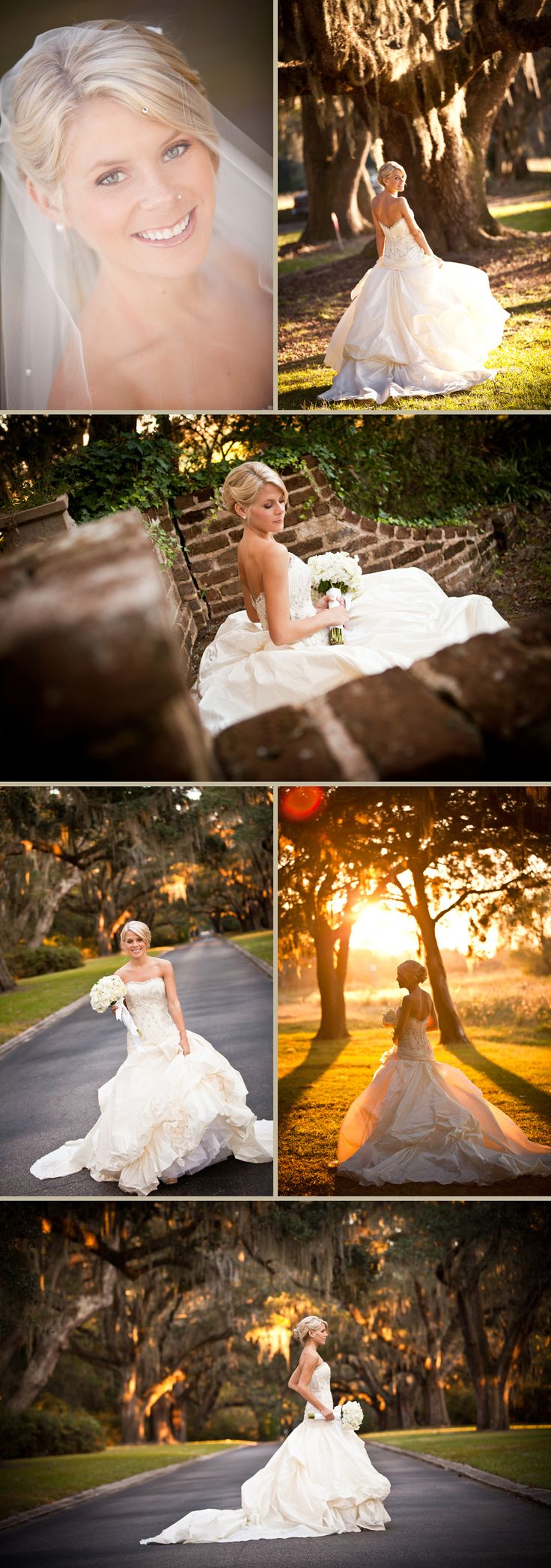 This has Southern wedding written allll over it! - Jacki you should get some shots like this, so pretty!