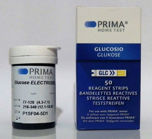 Cholesterol Testing: Prima Glucose Test Strips(50Pcs. Vial) -> BUY IT NOW ONLY: $40.05 on eBay!