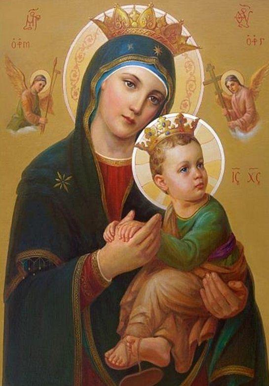 Oraciones Católicas Oración a Nuestra Señora del Perpetuo Socorro