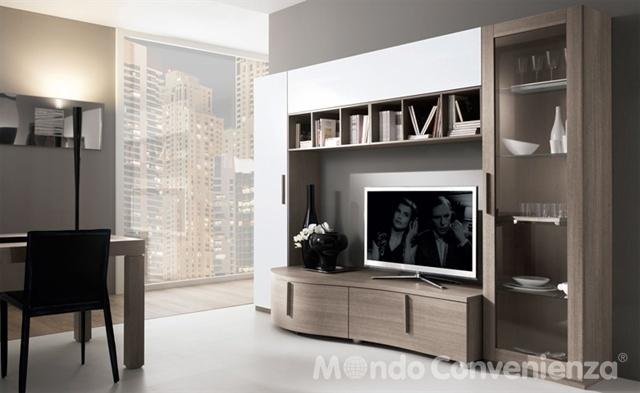 Mobili da soggiorno moderni mondo convenienza design for Soggiorni moderni mondo convenienza