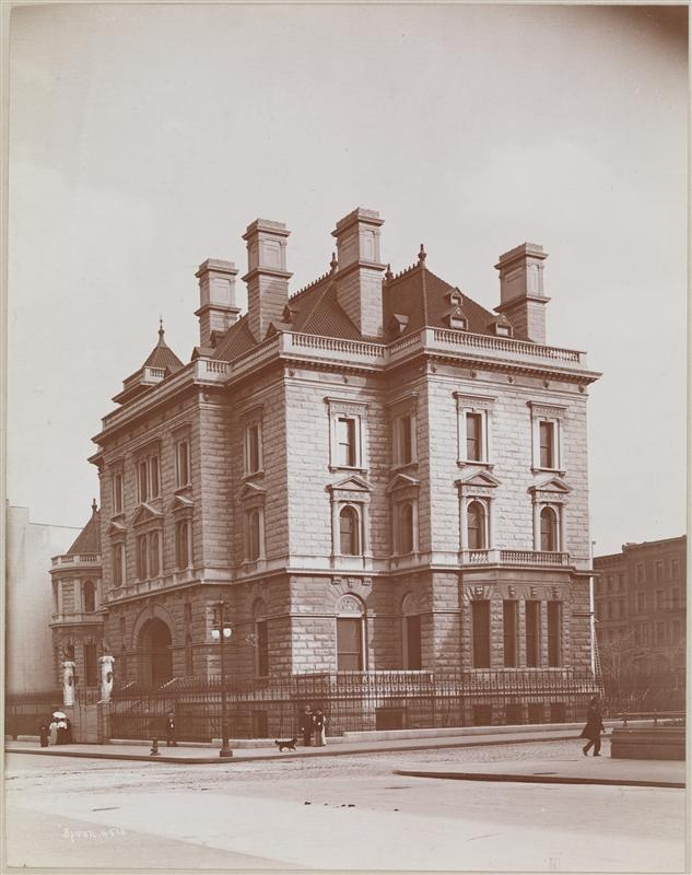 Collis P. Huntington Mansion 1891, Fifth Avenue and 57th Street