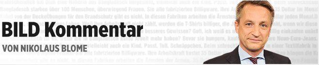 BILD-Kommentar von Nikolaus Blome: Frage und Antwort zu Böhmermanns Satire - News - Bild.de