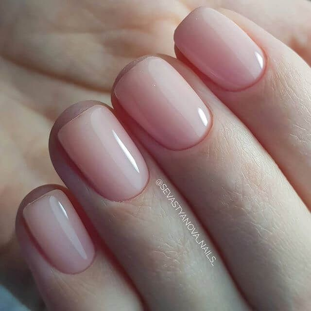 50 Best Natural Nail Ideas And Designs Anyone Can Do From Home Natural Nail Designs Natural Nails Pink Nails