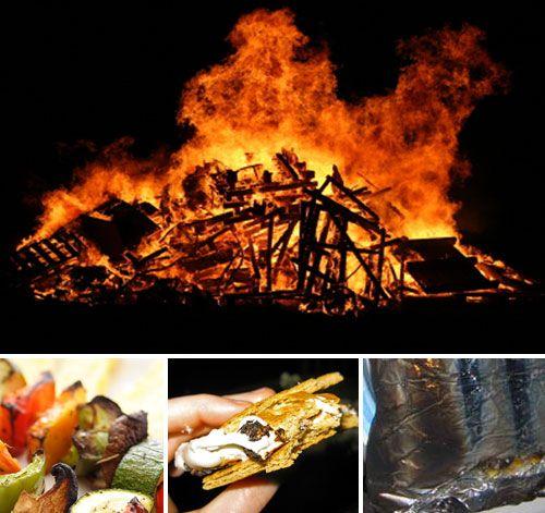 Bonfire Party Foods