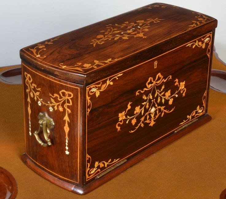 Late Victorian inlaid writing box c1890