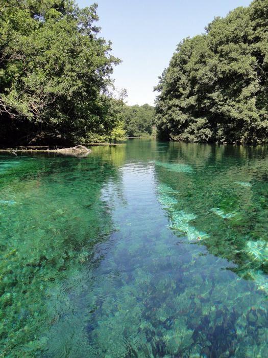 Saint Naum Springs, Galicica National Park, Ohrid, Macedonia