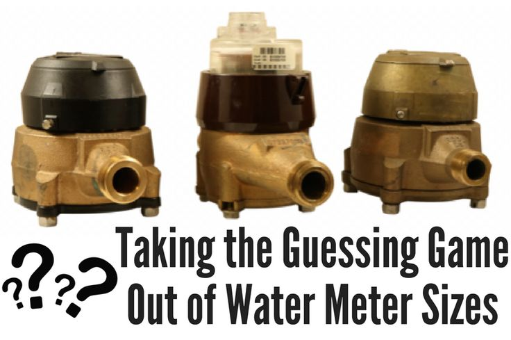 When it comes to recording water usage within a structure, there are multiple water meter size options available – and they're not always labeled as so. Knowing this, regular maintenance to meter change-out jobs can easily become a guessing game for municipalities if they don't know what to look for. Thankfully, we do...