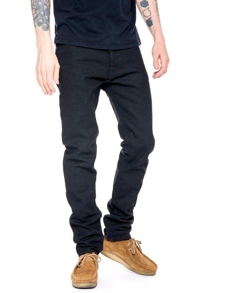 Fearless Freddie Dry Black YD - Nudie Jeans