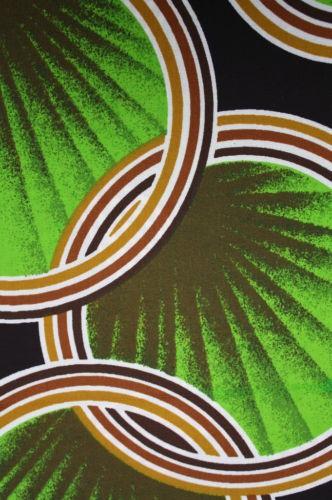 1960s Scandinavian op art drapery fabric
