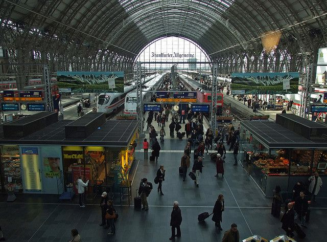 Main Train Station - Frankfurt, Germany