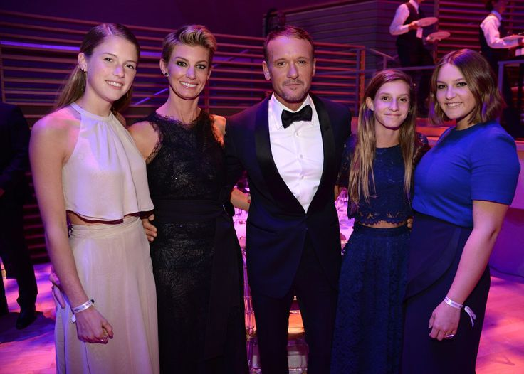 Faith Hill and Tim McGraw With Daughters at Time 100 Gala in New York City | POPSUGAR Celebrity