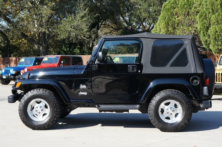Rare TJ Jeep Wrangler with ONLY 22k Miles, 5-Speed Wrangler, Soft ...