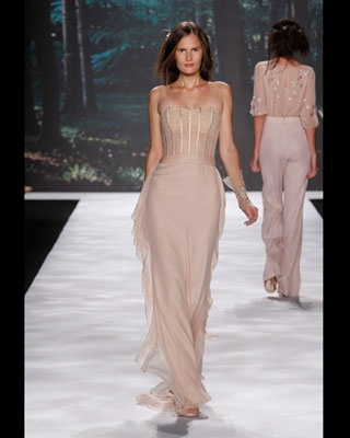 corset bodice runway evening gown  gowns dresses runway