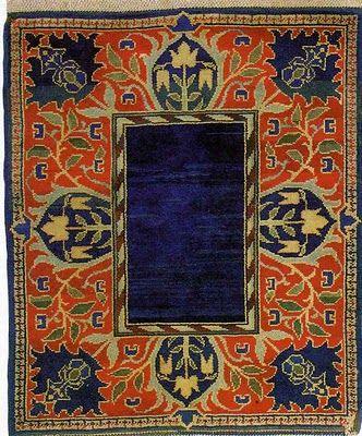 William Morris - Hammersmith Carpet, c. 1890
