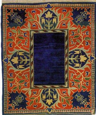 William Morris - Hammersmith Carpet, c. 1890///would make  GREAT photo frame
