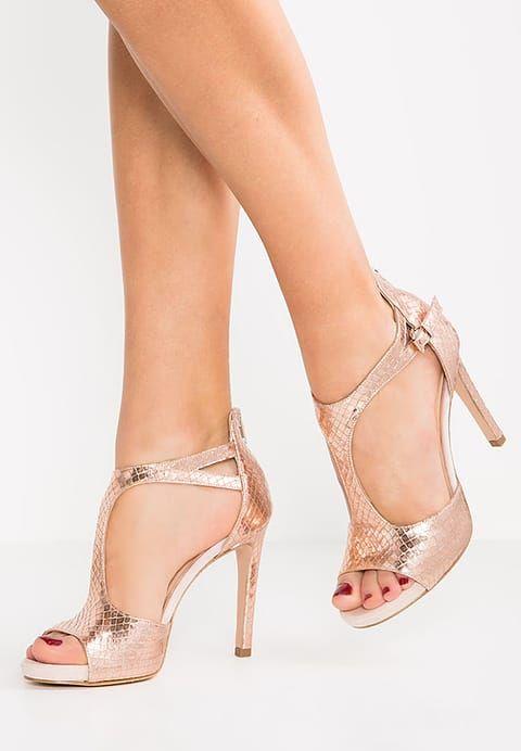 Sandales , piper rame/antique rose