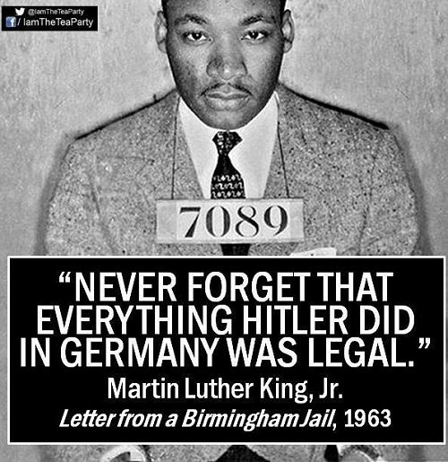 Just and Unjust Laws: According to Dr. Martin Luther King jr.