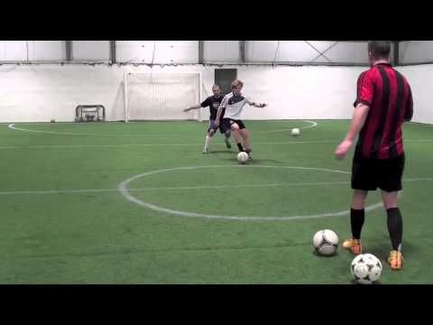 Soccer Drills - Soccer Shooting Drills To Improve Soccer Shooting Power And Shooting Accuracy - YouTube