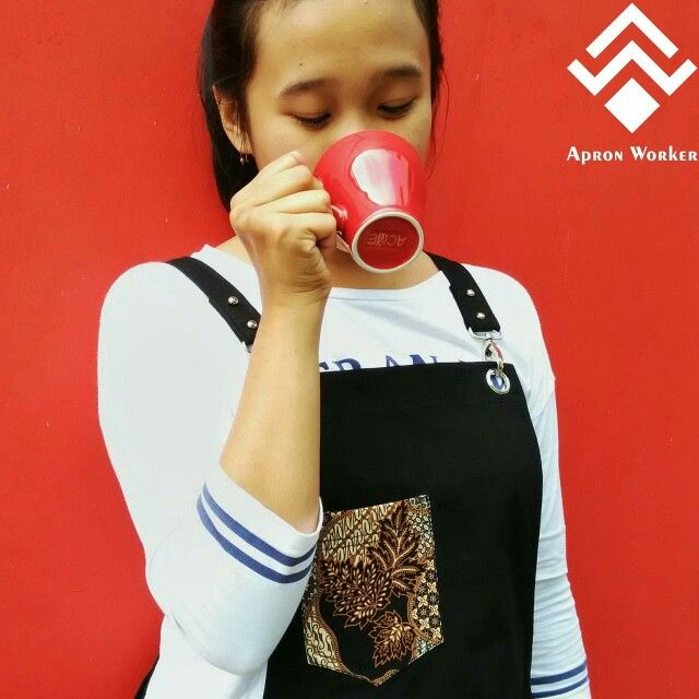 Batik are like diamonds BECAUSE WE ARE INDONESIAN, check out our account instagram apron_worker for more picture