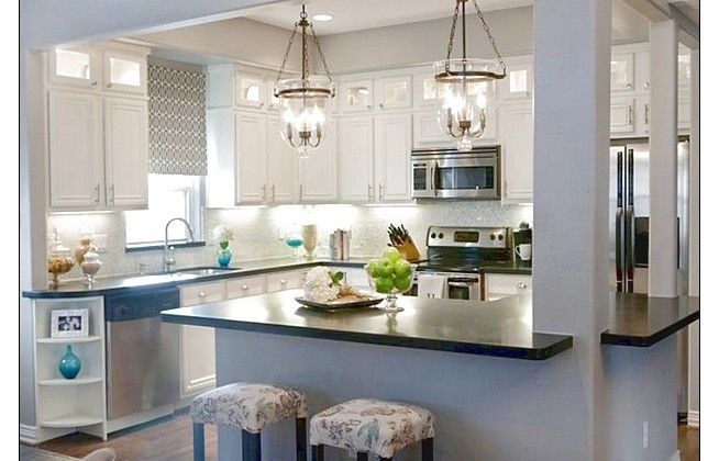 Fabulous Design Kitchen With Great Lighting