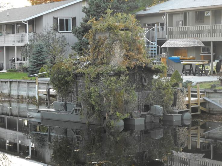 Duck Hunting Camo Pontoon Duck Boat The Michigan