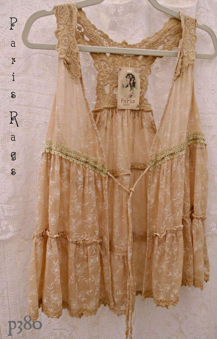 wonderful Paris Rags vest