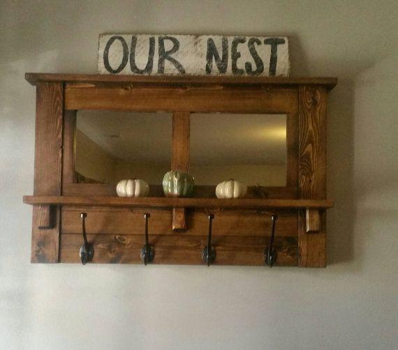best 25 rustic coat rack ideas on pinterest rustic coat. Black Bedroom Furniture Sets. Home Design Ideas