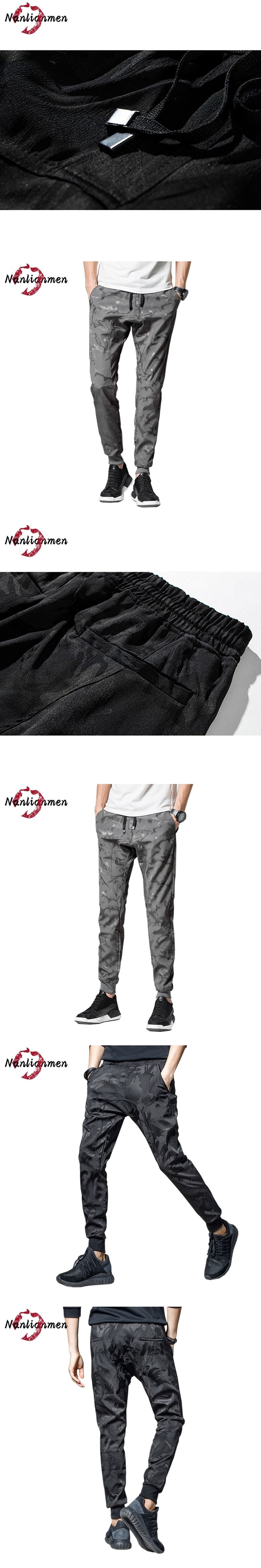 2017 Direct Selling Midweight New Camo Casual Pants Joggers Compression Men Dark Camouflage Pantalones Chandal Hombre