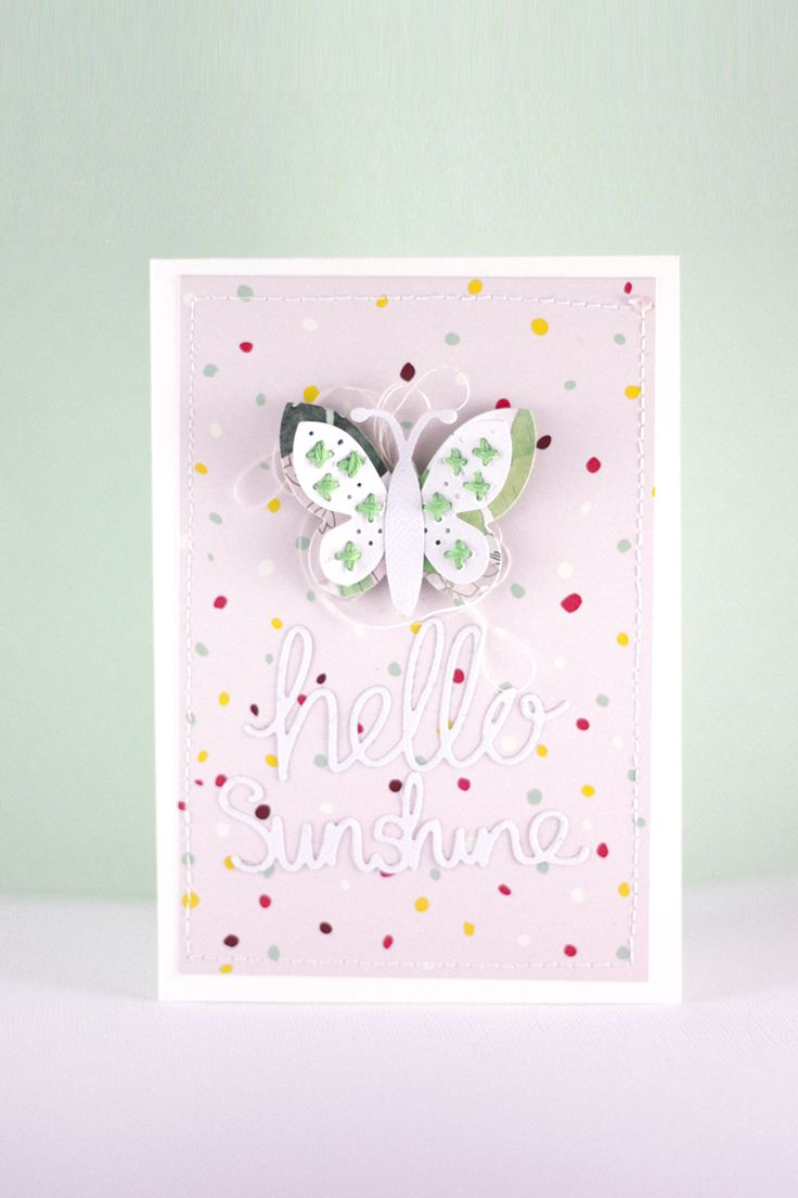 This super cute card is made using dies designed by Craft Asylum from our latest collaboration!