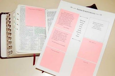 printing on post-its --- could do this as a reading activity with kids, teaching them how to take notes maybe?