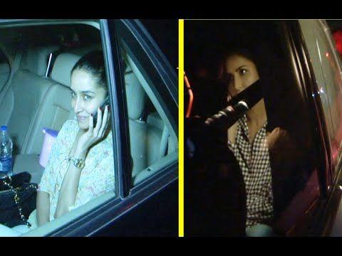 WATCH Shraddha Kapoor and Katrina Kaif spotted at the special screening of the movie PIKU.  See the video at : https://youtu.be/nu3tfQ6zvfM #shraddhakapoor #katrinakaif #piku #bollywood