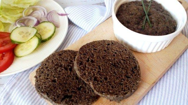 Diétás zsemle mikróban