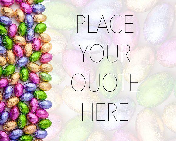 Easter Desktop Mockup by Plums Pixel Love on @creativemarket