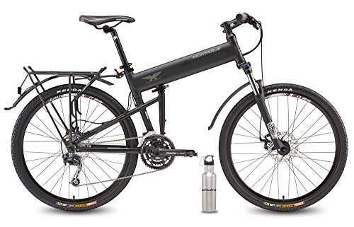 """2016 Montague Paratrooper Pro Folding Mountain Bike 18"""" Frame, 27 Speeds with Safecastle Stainless Steel Water Bottle ... >>> Check out this great product."""