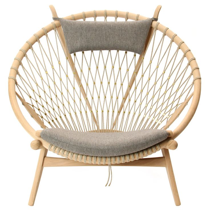 the Circle Chair by Hans J. Wegner | From a unique collection of antique and modern lounge chairs at http://www.1stdibs.com/furniture/seating/lounge-chairs/