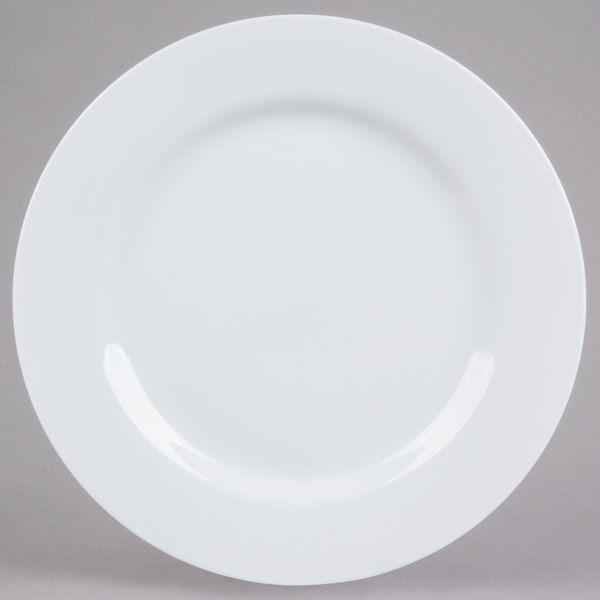 10 Strawberry Street Rw0024 11 7 8 Round Royal White Porcelain Charger Plate 12 Case Charger Plates 10 Strawberry Street White Porcelain