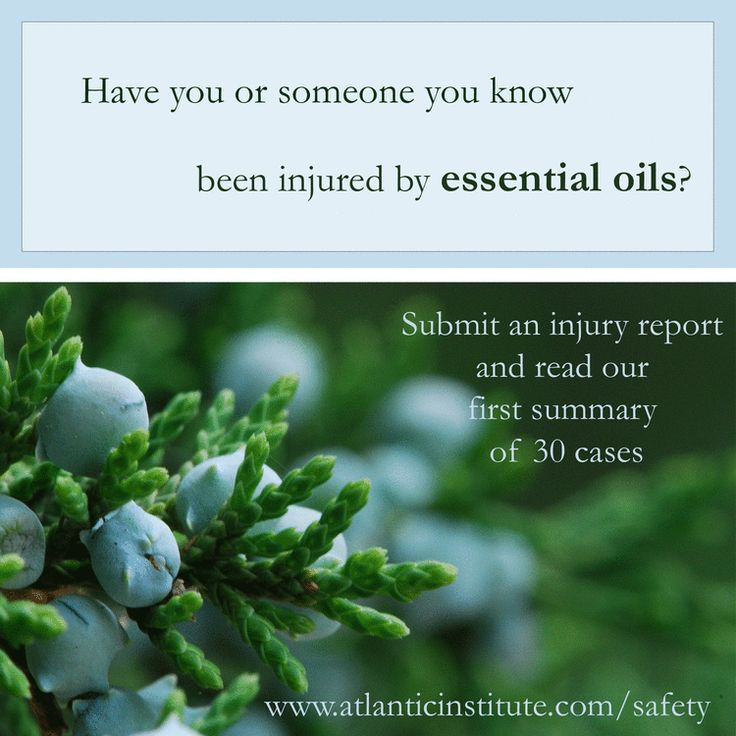I really feel essential oils are helpful in most situations, but be educated when you use them! Too 10 Worst Injuries from Essential Oils of 2014—Part 1 — Atlantic Institute of Aromatherapy