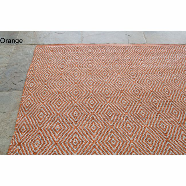 Handmade Alexa Contemporary Outdoor Flat-Weave Rug - Overstock Shopping - Great Deals on Nuloom 7x9 - 10x14 Rugs